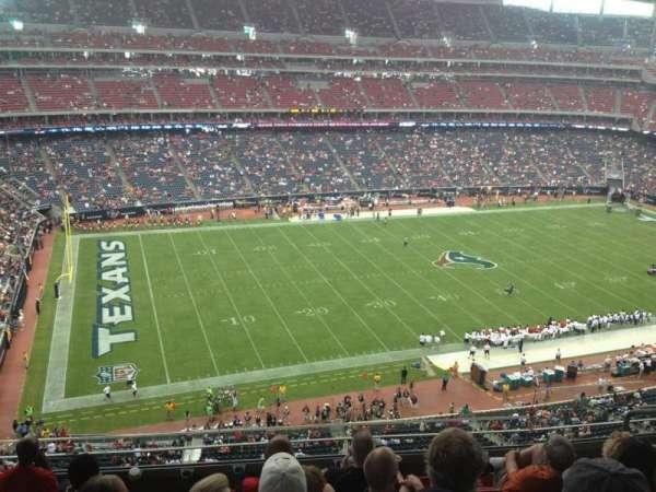 NRG Stadium, secção: 538, fila: M, lugar: 7