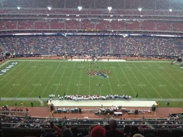 NRG Stadium, secção: 534, fila: M, lugar: 23