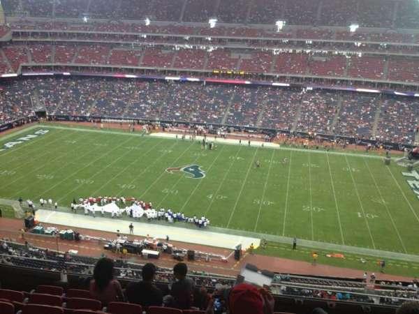 NRG Stadium, secção: 532, fila: M, lugar: 21