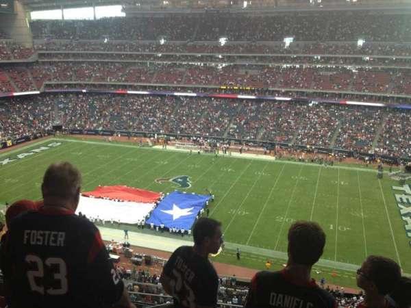 NRG Stadium, secção: 531, fila: M, lugar: 22
