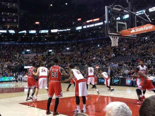 Scotiabank Arena, secção: CRTE, fila: C, lugar: 22