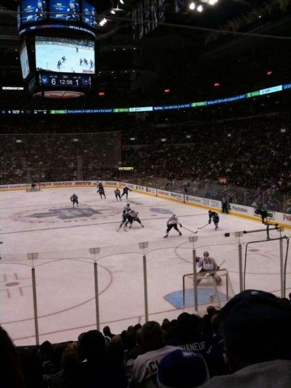 Scotiabank Arena, secção: 114, fila: 17, lugar: 15