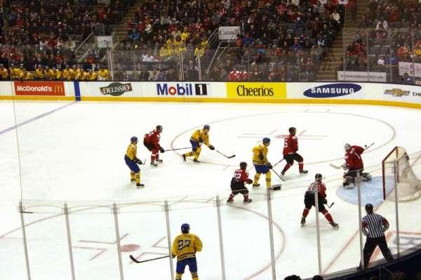 Scotiabank Arena, secção: 105, fila: 26, lugar: 23