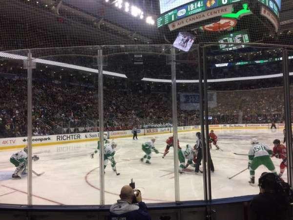 Scotiabank Arena, secção: 112, fila: 7, lugar: 4