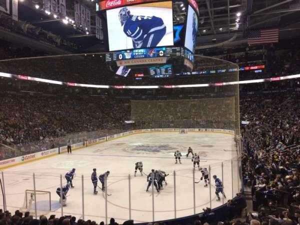 Scotiabank Arena, secção: 101, fila: 18, lugar: 19