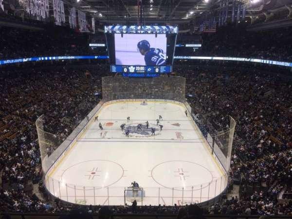 Scotiabank Arena, secção: 303, fila: 6, lugar: 5