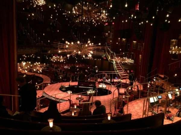 Imperial Theatre, secção: Onstage Banquettes, fila: BG , lugar: 8