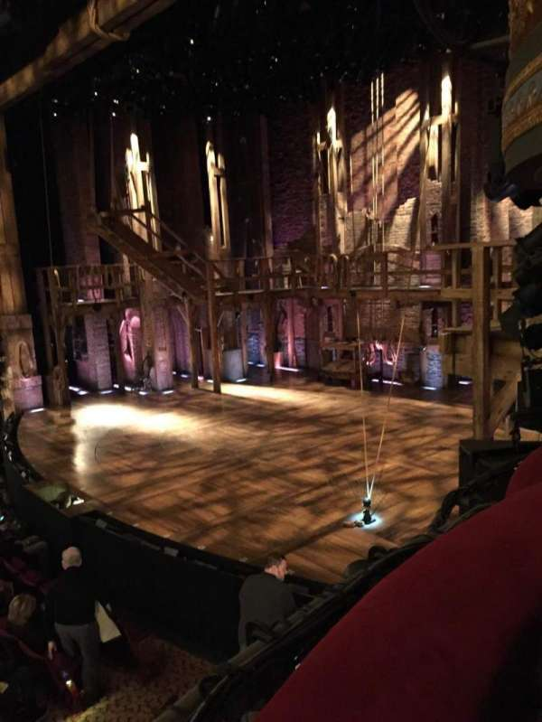 Richard Rodgers Theatre, secção: Box D, fila: 1, lugar: 1