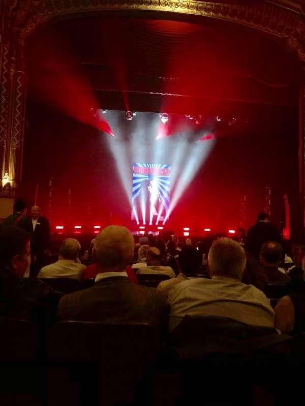 Golden Gate Theatre, secção: Orchestra C, fila: O, lugar: 101