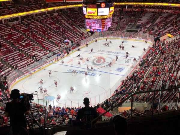 PNC Arena, secção: 331, fila: G, lugar: 5