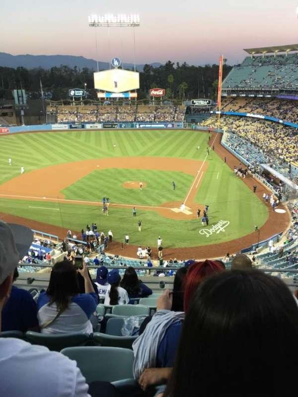 Dodger Stadium, secção: 7td, fila: G, lugar: 13