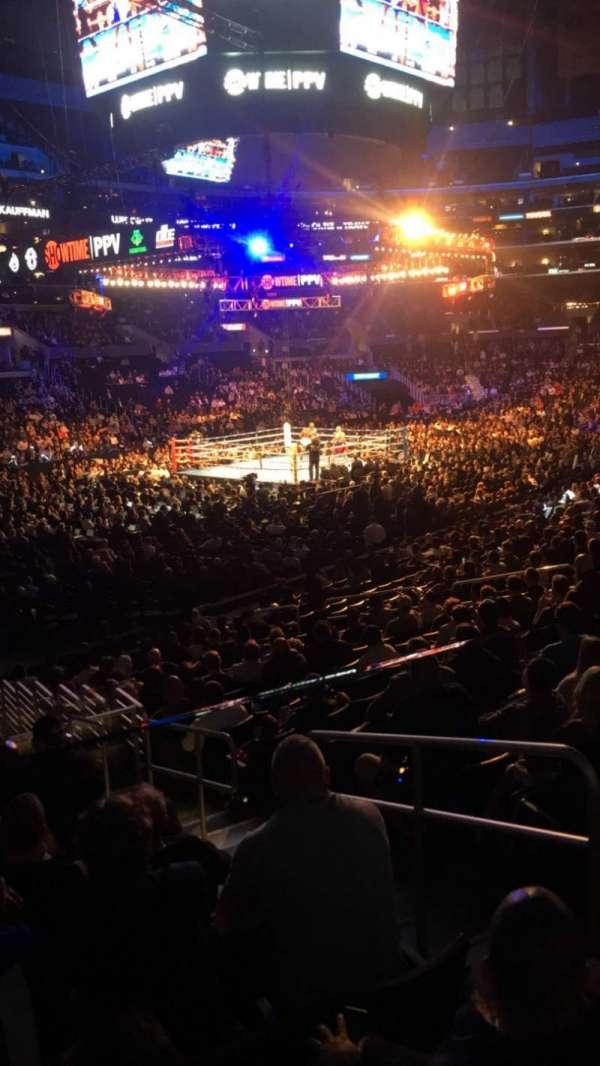 Staples Center, secção: 114, fila: 118, lugar: 1