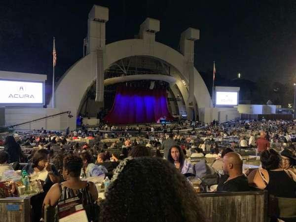 Hollywood Bowl, secção: Terrace Box 1464, fila: 6