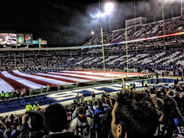 Highmark Stadium, secção: 124, fila: 23, lugar: 1