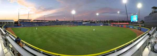 TD Ballpark, secção: DRKRL2, fila: DR3, lugar: 13