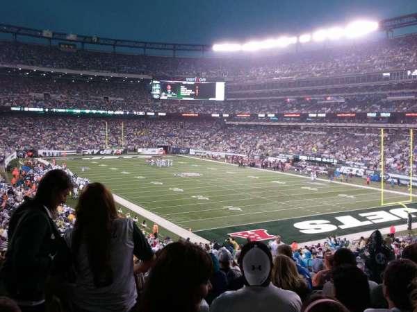 MetLife Stadium, secção: 106, fila: 41, lugar: 5