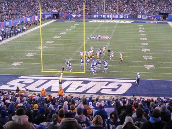 MetLife Stadium, secção: 101, fila: 45, lugar: 3