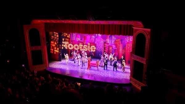 Marquis Theatre, secção: Mezzanine R, fila: G, lugar: 8