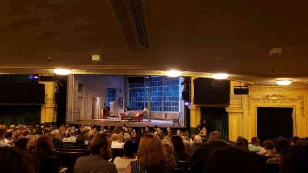 Hudson Theatre, secção: Orchestra R, fila: U, lugar: 2