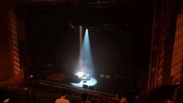 Lunt-Fontanne Theatre, secção: Front Mezzanine, fila: E, lugar: 14