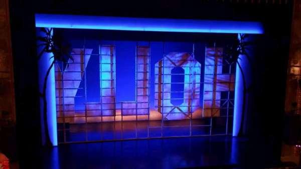 Nederlander Theatre, secção: Mezzanine C, fila: D, lugar: 113