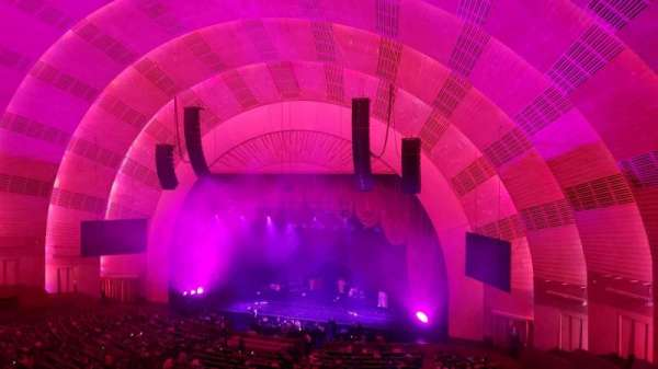 Radio City Music Hall, secção: 2nd Mezzanine 2, fila: D, lugar: 203
