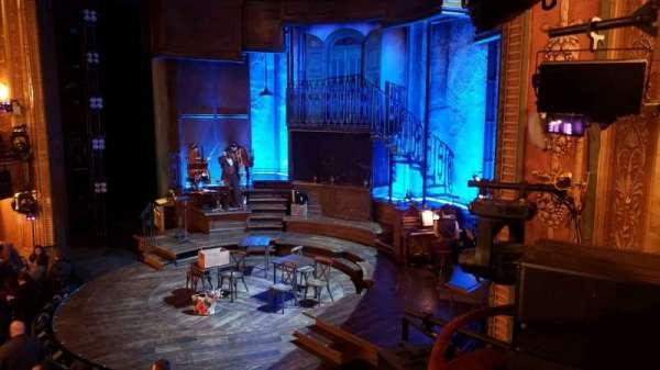 Walter Kerr Theatre, secção: Box A, fila: 1, lugar: 7