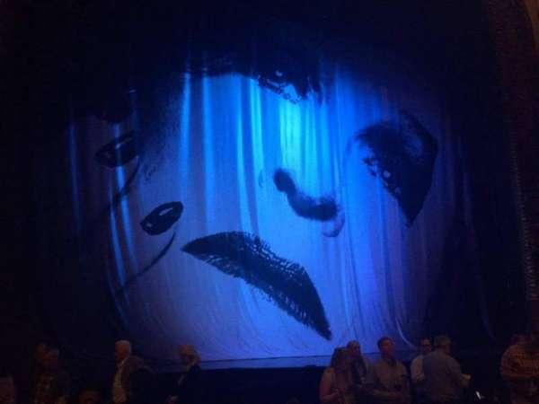 Palace Theatre (Broadway), secção: ORCH, fila: H, lugar: 117
