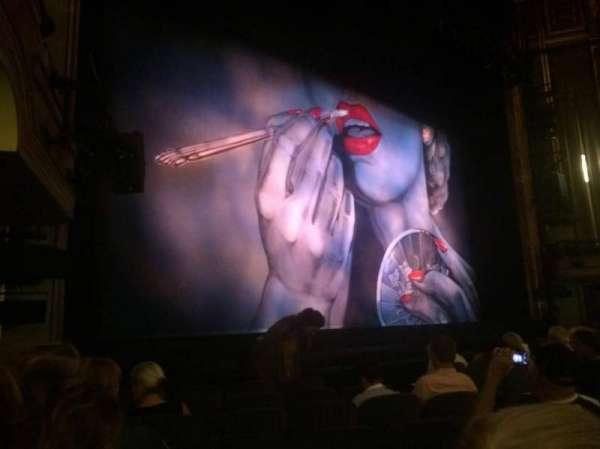 Nederlander Theatre, secção: Orchestra L, fila: L, lugar: 17