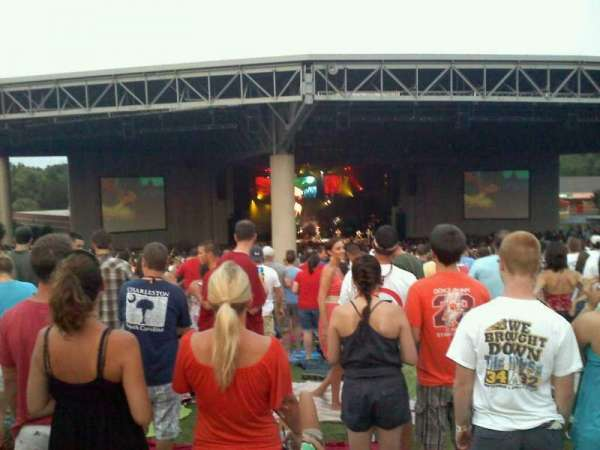 PNC Music Pavilion, secção: lawn