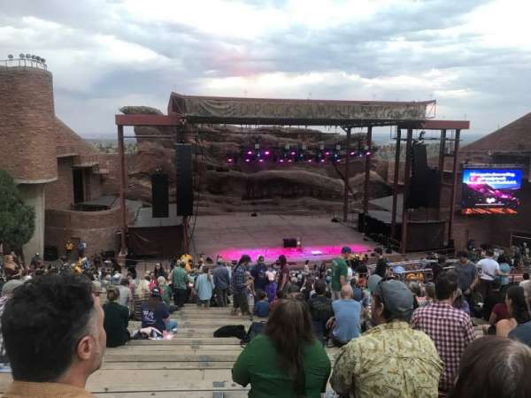 Red Rocks Amphitheatre, secção: N/A, fila: 27, lugar: 98