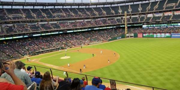 Globe Life Park in Arlington, secção: 238, fila: 6, lugar: 13 and 14