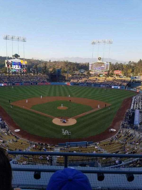 Dodger Stadium, secção: 1rs, fila: c, lugar: 17