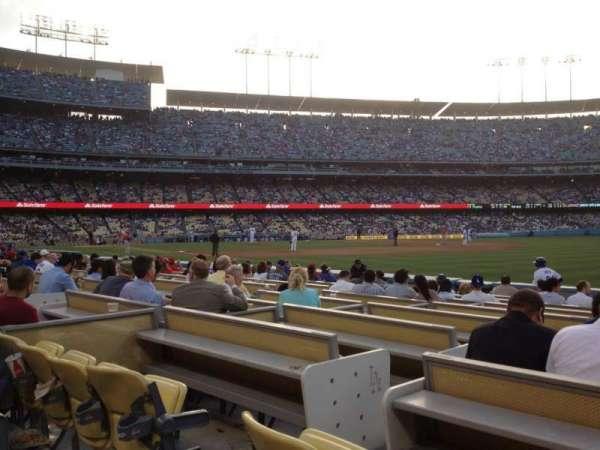 Dodger Stadium, secção: 40FD, fila: B, lugar: 4