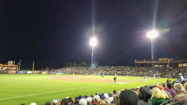 Scottsdale Stadium, secção: 125, fila: H, lugar: 18