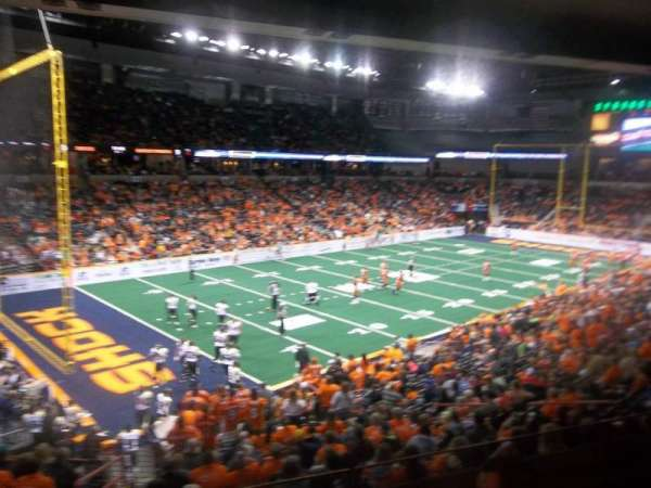 Spokane Arena, secção: 101, fila: I, lugar: 5