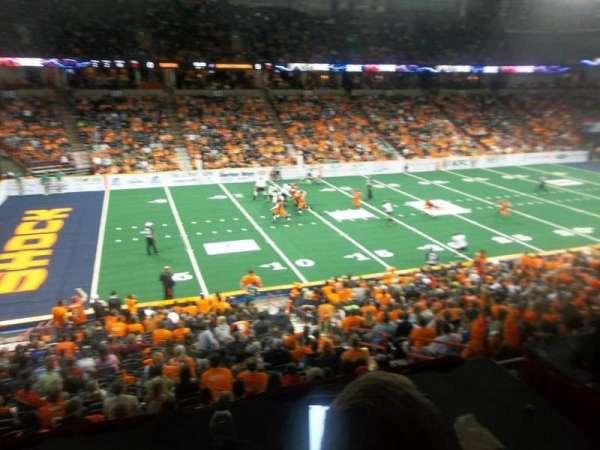 Spokane Arena, secção: 103, fila: K, lugar: 10