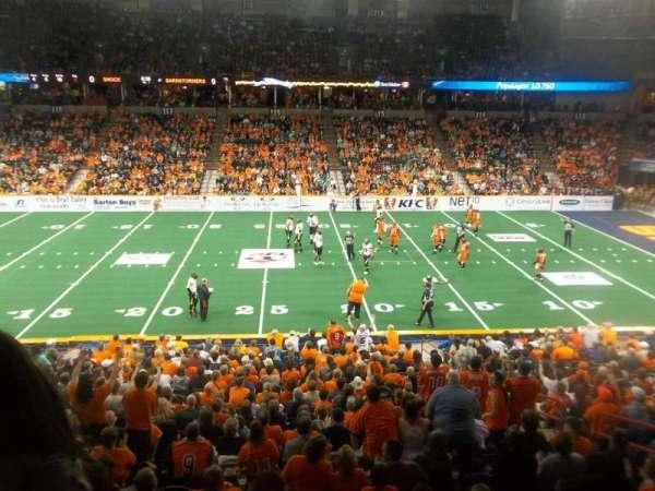 Spokane Arena, secção: 104, fila: K, lugar: 10