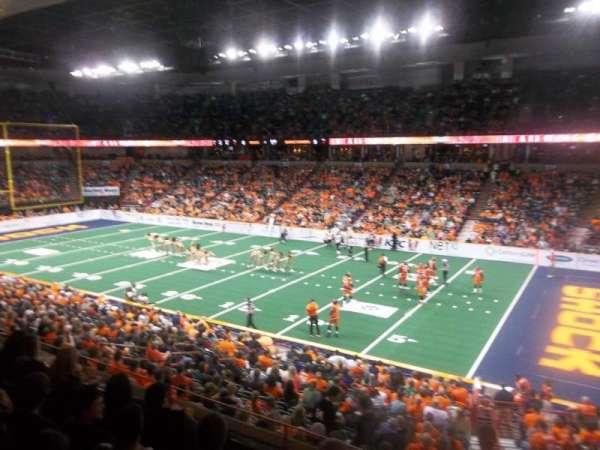 Spokane Arena, secção: 106, fila: K, lugar: 14