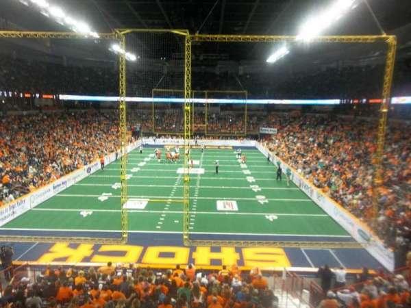 Spokane Arena, secção: 110, fila: R, lugar: 10
