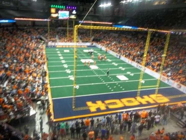 Spokane Arena, secção: 221, fila: M, lugar: 19