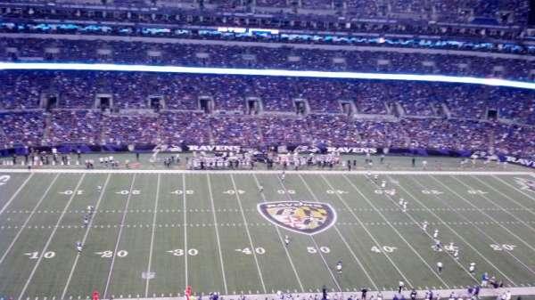 M&T Bank Stadium, secção: 528, fila: 12, lugar: 8