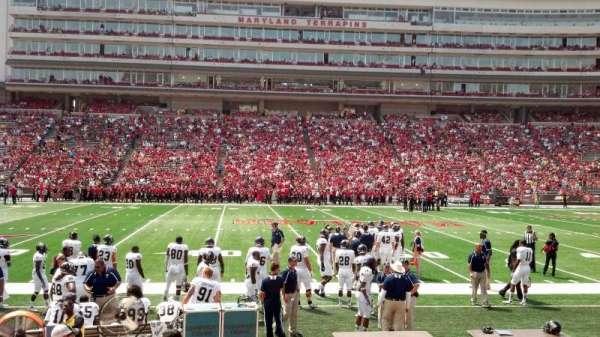 Maryland Stadium, secção: 5, fila: L, lugar: 5