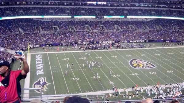 M&T Bank Stadium, secção: 503, fila: 11, lugar: 4