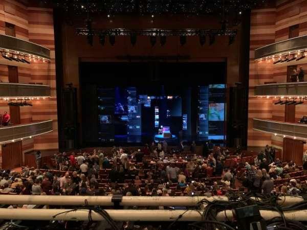 Eccles Theater, secção: 1TR, fila: A, lugar: 111