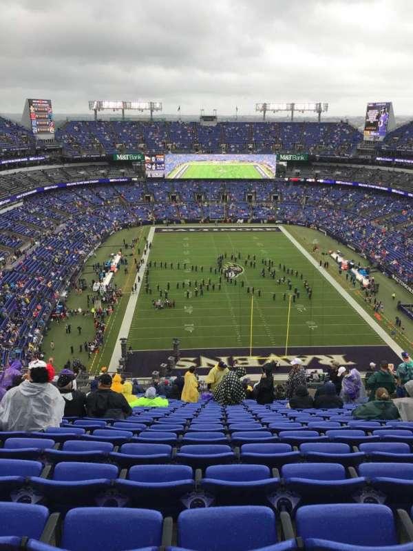 M&T Bank Stadium, secção: 514, fila: 25, lugar: 12