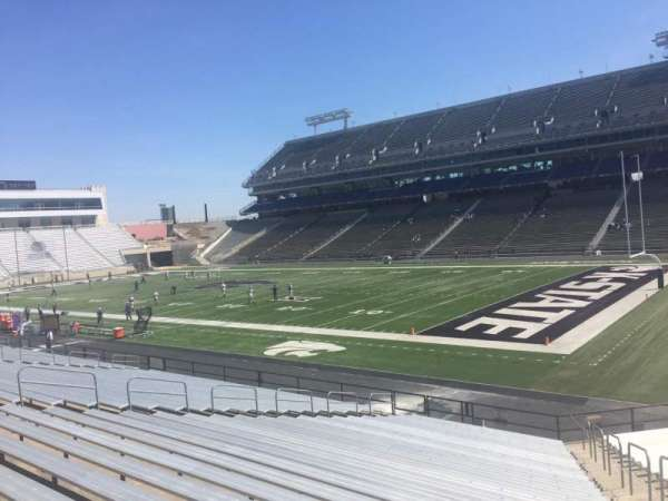 Bill Snyder Family Stadium, secção: 9, fila: 25, lugar: 25