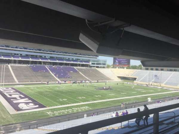 Bill Snyder Family Stadium, secção: 20, fila: 45, lugar: 14