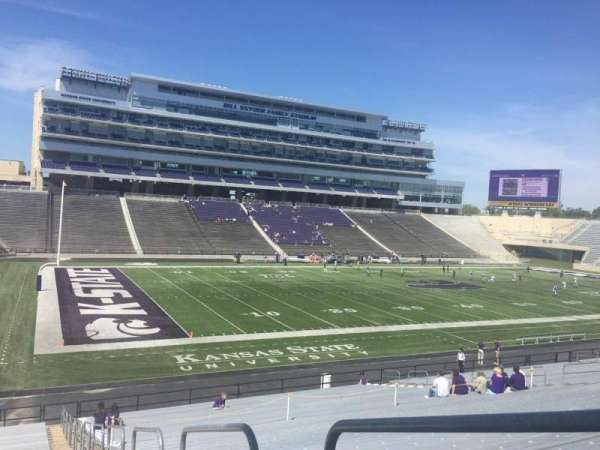 Bill Snyder Family Stadium, secção: 20, fila: 34, lugar: 1