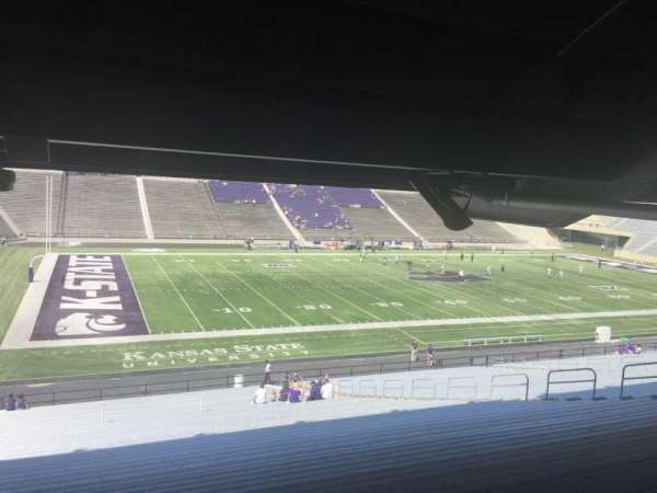 Bill Snyder Family Stadium, secção: 21, fila: 47, lugar: 19